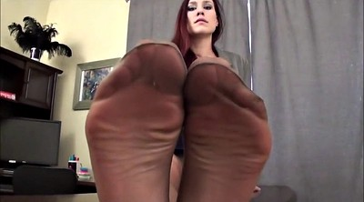 Feet, Pantyhose feet, Pantyhose masturbation, Pantyhose fetish