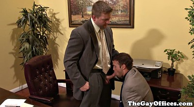 Gay, Office gay, Sucking ass, Gay office