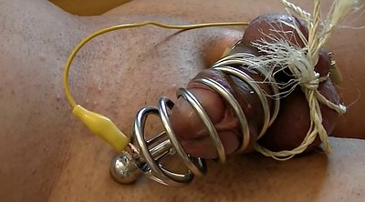 Electro, Metal, Short, Expand, Auto, Cock cage