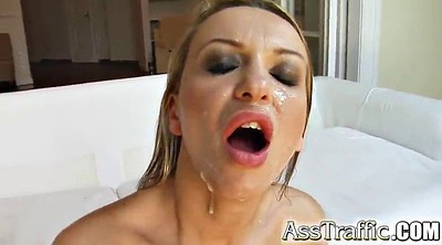 Anal orgasm, Double penetrated