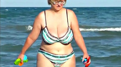 Spy, Saggy, Granny compilation, Beaches, Mature compilation, Huge granny