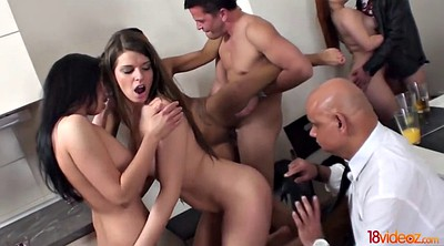Group, Horny amateur
