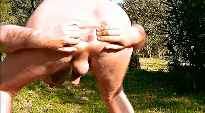 Huge, Fist, Bottle, Huge anal dildo, Fat gay, Gaping asshole