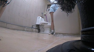 Asian toilet, Asian girl, Korean milf