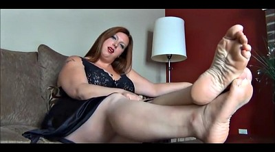 Nylon foot, Nylon feet, Nylon leg, Bbw feet