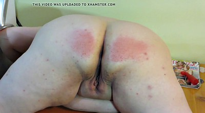 Punished, Spanking punishment, Pale, Wife spank, Wife punish, Plump