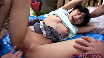 Japanese outdoor, Asian teen, Outdoor gangbang, Japanese cute, Hard gangbang