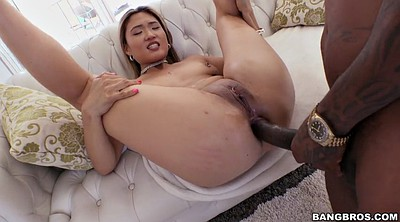 Asian interracial, Nyomi, Asian milf anal