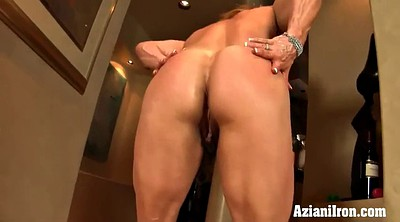 Clit, Mature solo, Muscle solo, Muscle show, Muscle girl