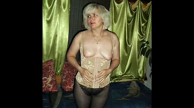 Russian mature, Hairy wife