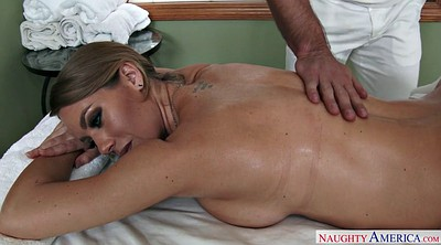 Nicole aniston, Massage oil