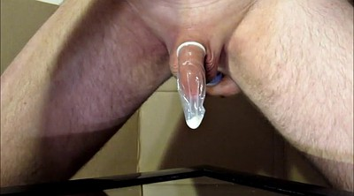 Milking, Prostate, Condom, Big milk