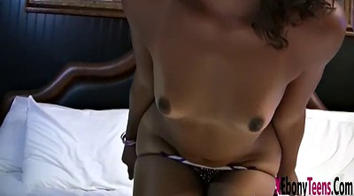 Teens, Brown, Spring, Her first big cock