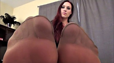 Pantyhose, Feet fetish, Pantyhose feet