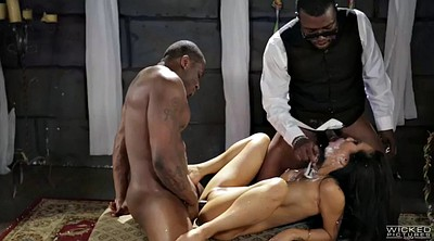 Asa akira, Bride, Interracial missionary, Akira, Two black, Threesome asian