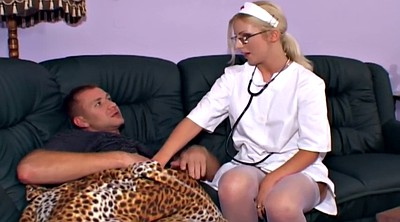 White stockings, White stocking, Blonde stockings
