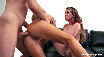 Mouth fuck, Ass to mouth threesome, Anal big ass