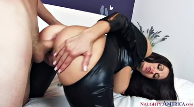 Latex, Leather, Ava addams, Bodysuit