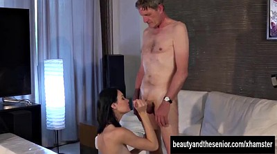 Tall, Granny, Sucking, Tall m, Sperm, Teen riding