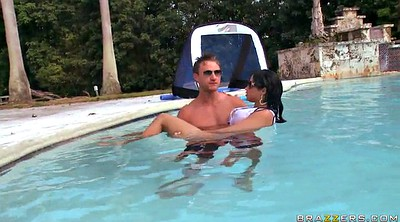 Kiss, Abella anderson, Swimming, Swimming pool