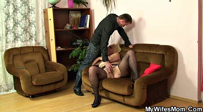 Pantyhose, Mother, Pantyhose fuck
