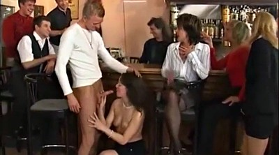 Bar, Watching wife, Mature party, Wife party