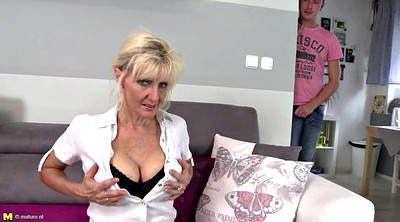 Mature mom, Saggy, Young mom, Saggy tits, Super, Saggy tits granny