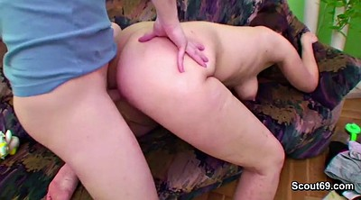 Stepmother, Step dad, Seducing, Daddy fuck son