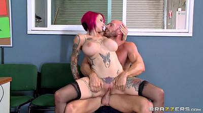 Officer, Anna, Anna bell, Worker, Johnny, Tits fuck