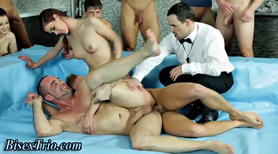 Orgy, Bisexual orgy