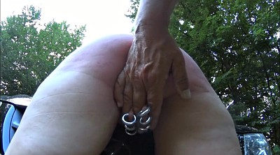 Spanking, Spank, Outdoors bondage
