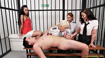 Prison, Police sex, Prisoners, Prisoner, Clothed sex