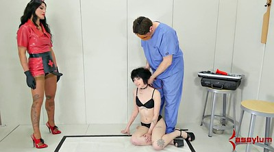 Spanking, Bdsm, Punish, Nurse, Doctor bdsm