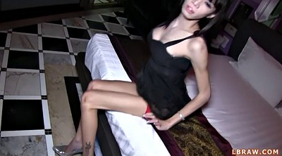 Asian shemale, Alice, Asian anal creampie, Alice g