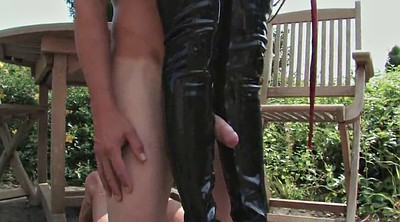 Lick foot, Latex bdsm
