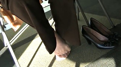 Nylon foot, Library, Candid feet, Nylon fetish, Nylon feet, Candid
