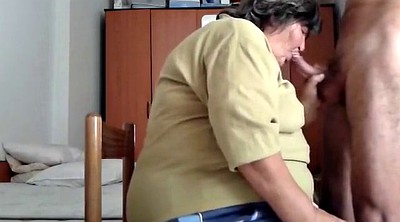 Blow job, Old bbw, Granny bbw