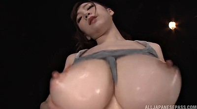 Japanese oil, Japanese big tits