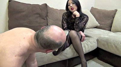 Femdom, Asian foot, Tanaka, Mistress, Mistress foot