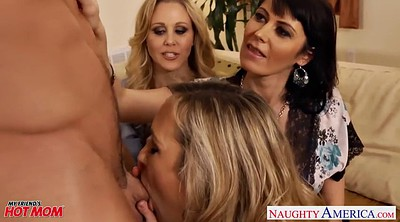 Julia ann, Brandi love, Anne, Mom threesome, Brandy love, Sex with mom