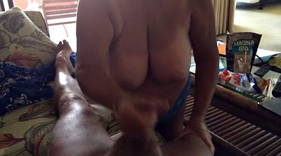 Mature pov, Hand job