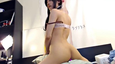 Hump, Humping, Asian spanking, Crossdressing, Pillow, Masturbating