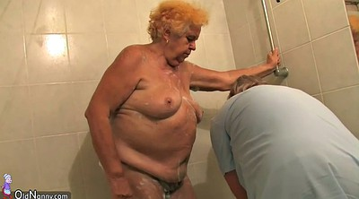 Grandma, Saggy, Hairy bbw, Young and old, Granny masturbate, Blonde granny