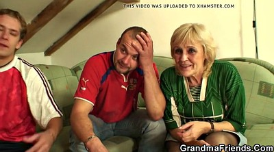 Swallow, Very young, Very old granny, Mature blonde, Granny swallow