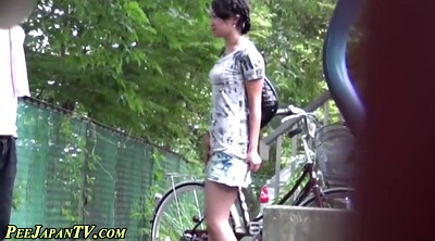 Piss, Pissing, Japanese piss, Japanese girl, Dress, Japanese skirt