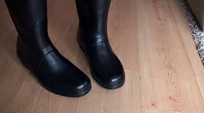 Foot, Rubber, Latex boots