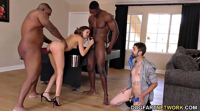 Big cock, Threesome bbc, Riley reid, Anal surprise