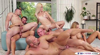 Anal orgy