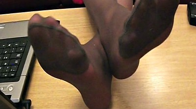 Nylon foot, Nylon foot fetish, Fetish, Nylon feet, Nylons, Black pantyhose