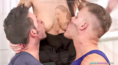 Bisexual, Double, Mmf, Licking, Bisexual mmf, Mmf bisexual